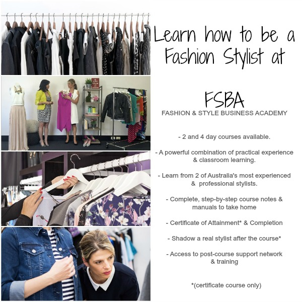 Learn how to be a Fashion Stylist with Ruby Slippers! | Sydney ...
